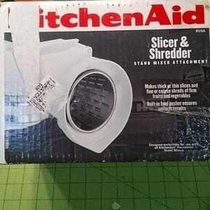 Kitchen Aid Slicer and Shredder attachment